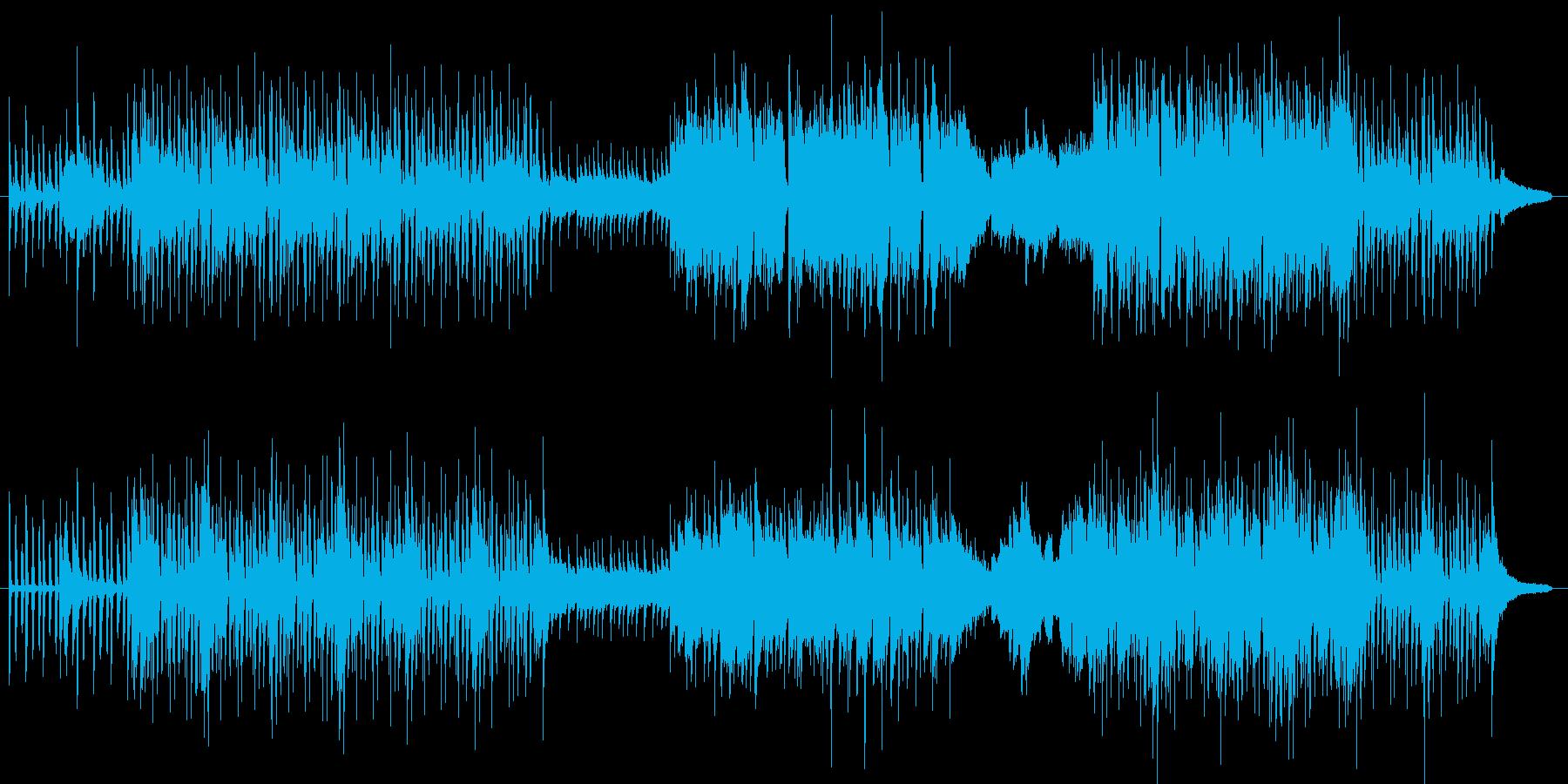 (冬)かわいい曲の再生済みの波形