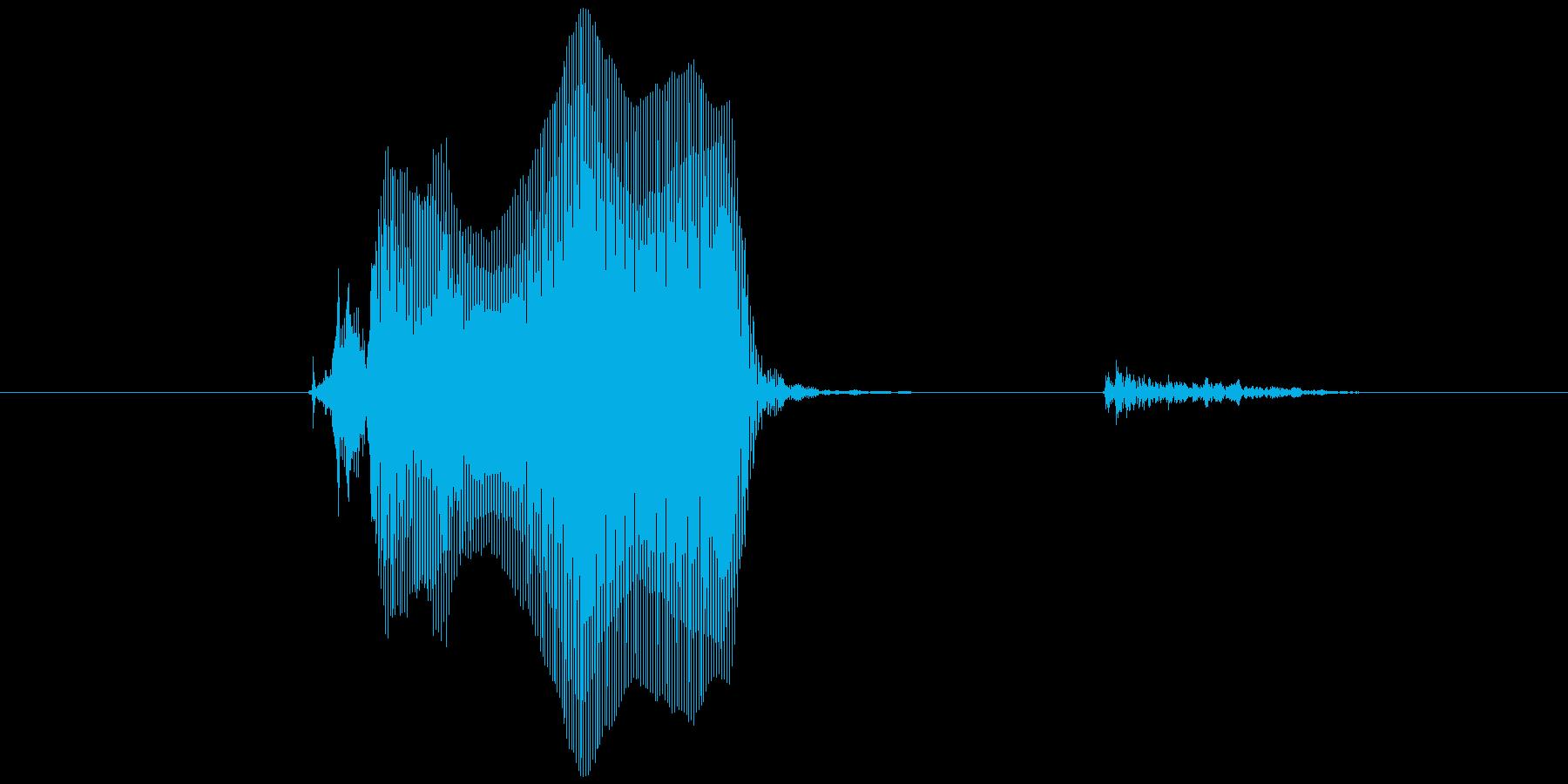 チョーップ!の再生済みの波形