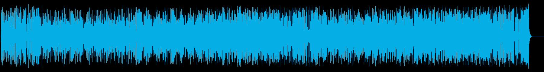 夏のフュージョンポップ(フルサイズ)の再生済みの波形