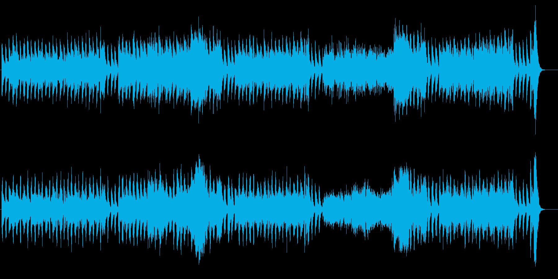 堂々と入場する力強いオーケストラ風BGMの再生済みの波形