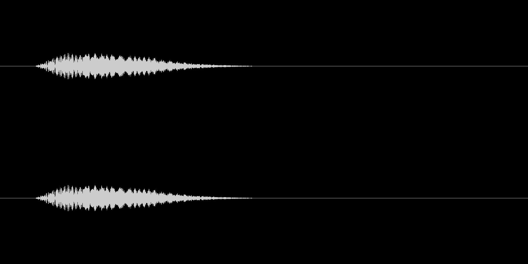 【ネガティブ10-1】の未再生の波形