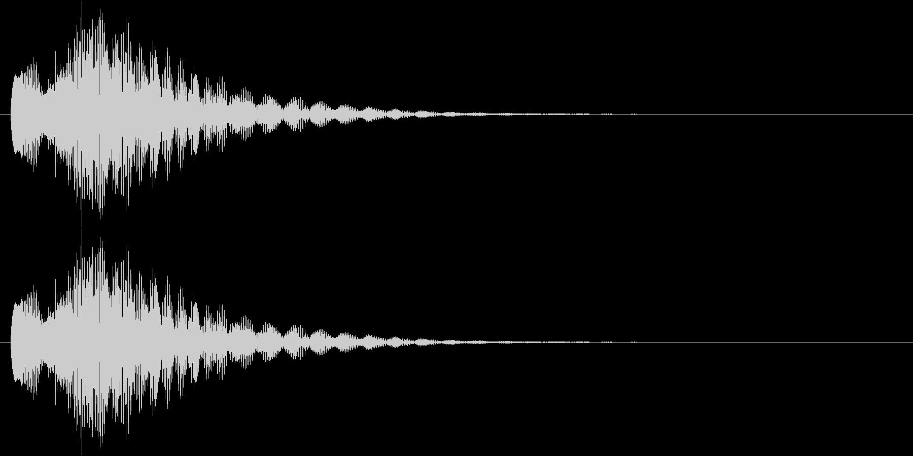キラリーン!(チャイム系)の未再生の波形