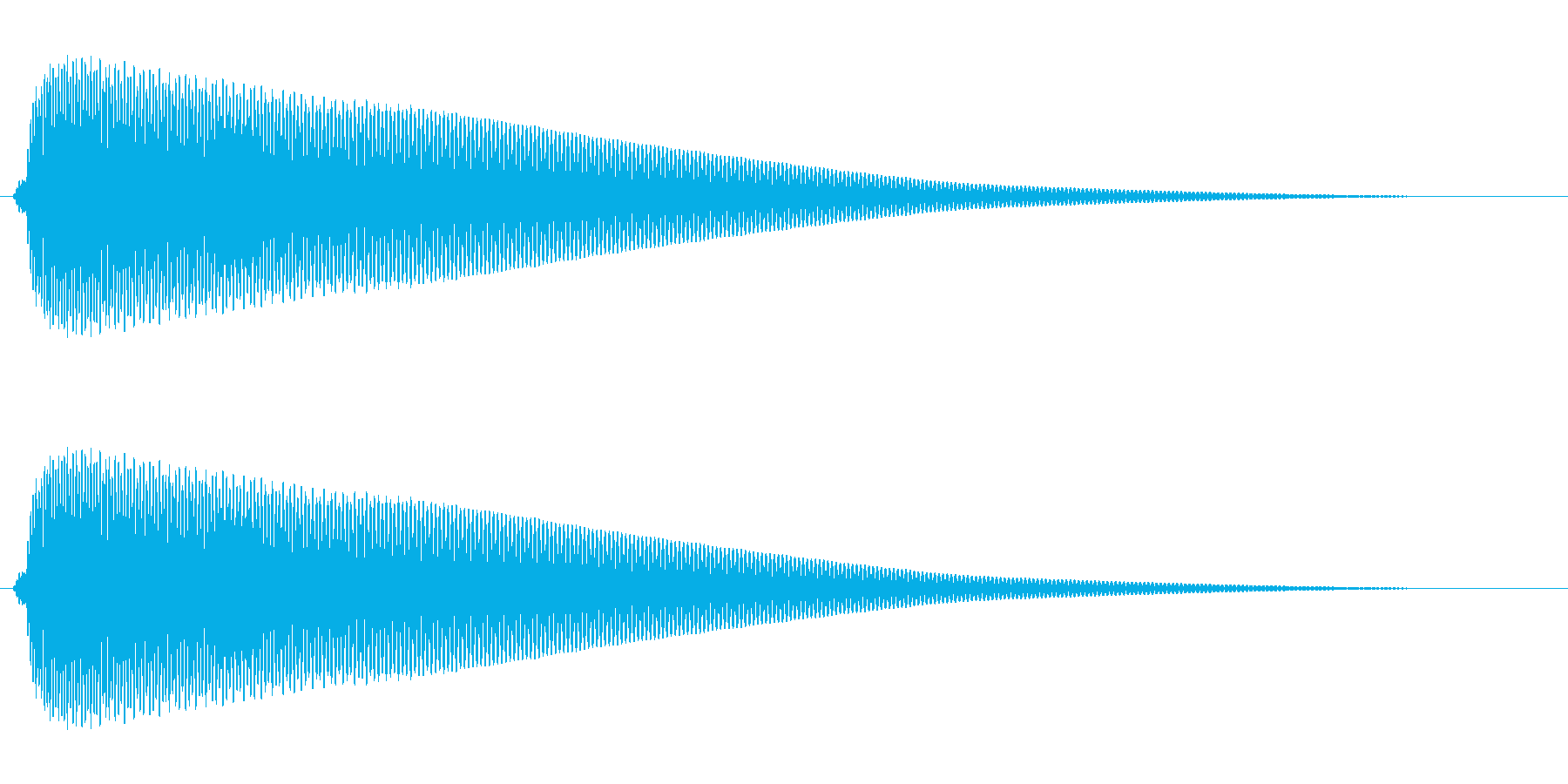 次の人どうぞという順番をめくる音の再生済みの波形