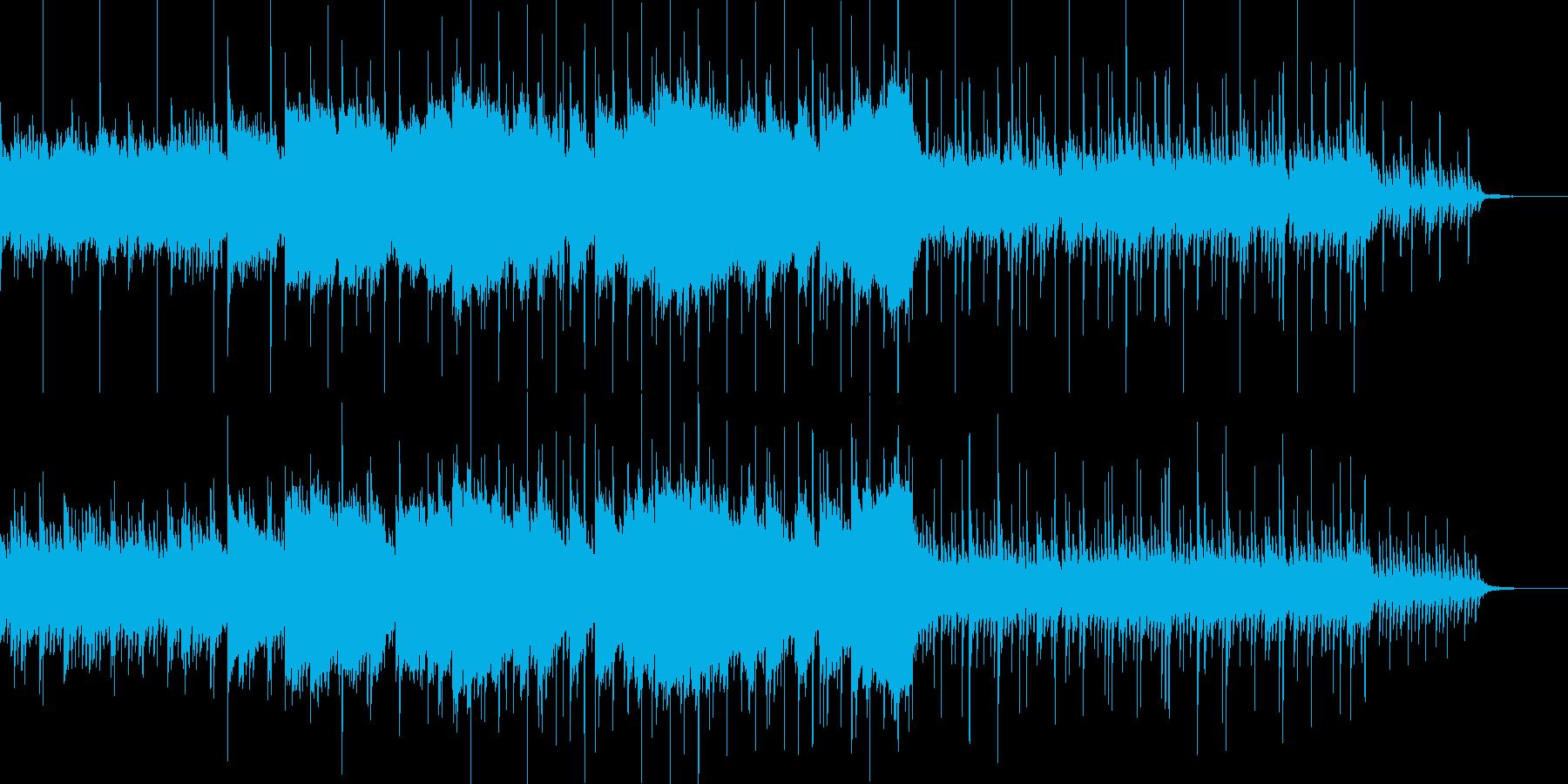 爽やかな朝の高原をイメージする曲の再生済みの波形