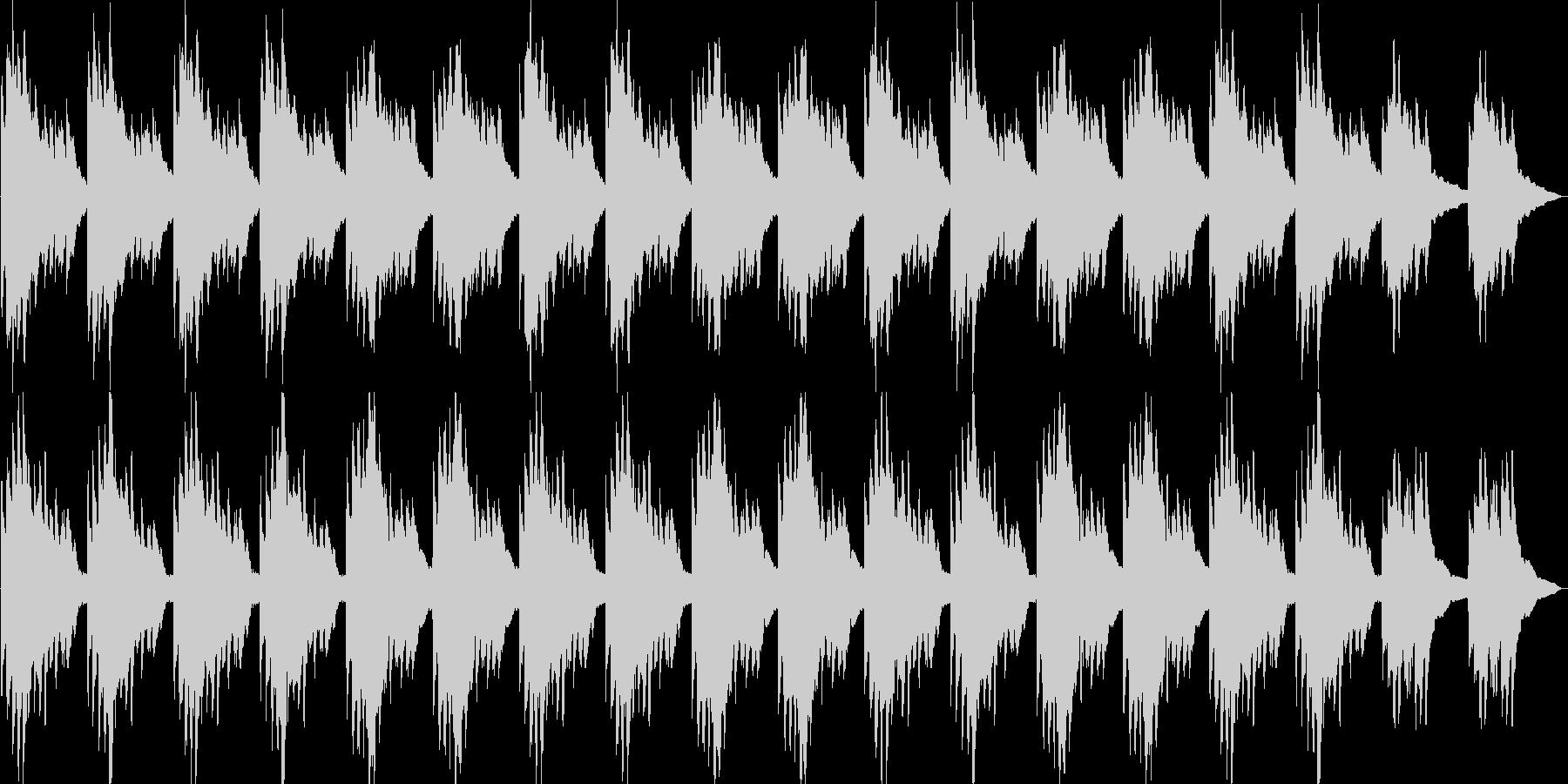 神秘的・透明感・ハープ・映像・ゲーム用の未再生の波形