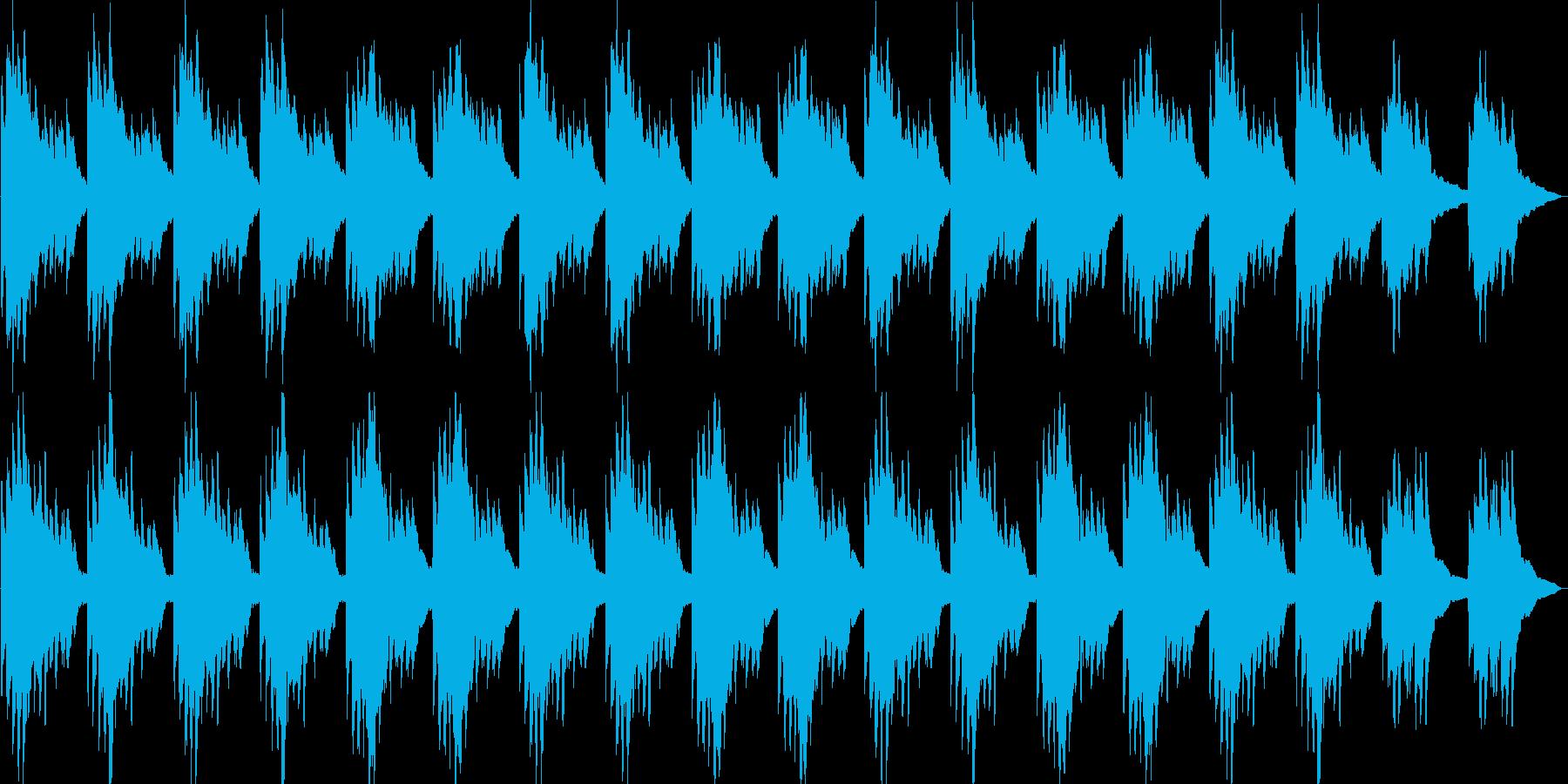 神秘的・透明感・ハープ・映像・ゲーム用の再生済みの波形