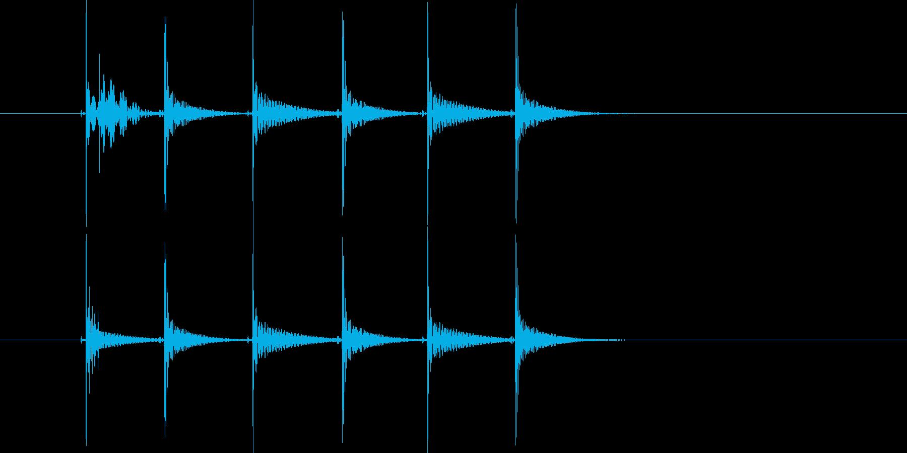 ピッチョンピッチョン(コミカル)の再生済みの波形