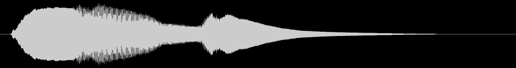 チャイム アナウンス07-5の未再生の波形