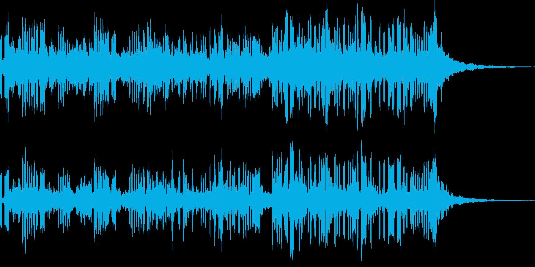 28秒ソング EDM 空間とスピードの再生済みの波形