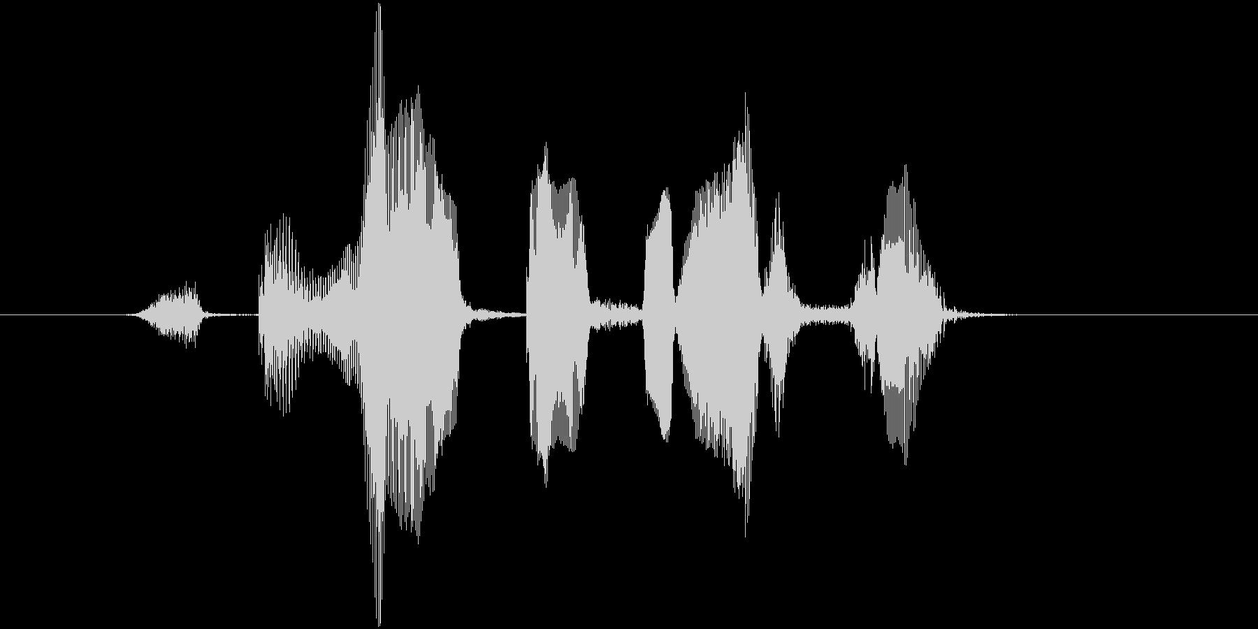 ストレートフラッシュの未再生の波形