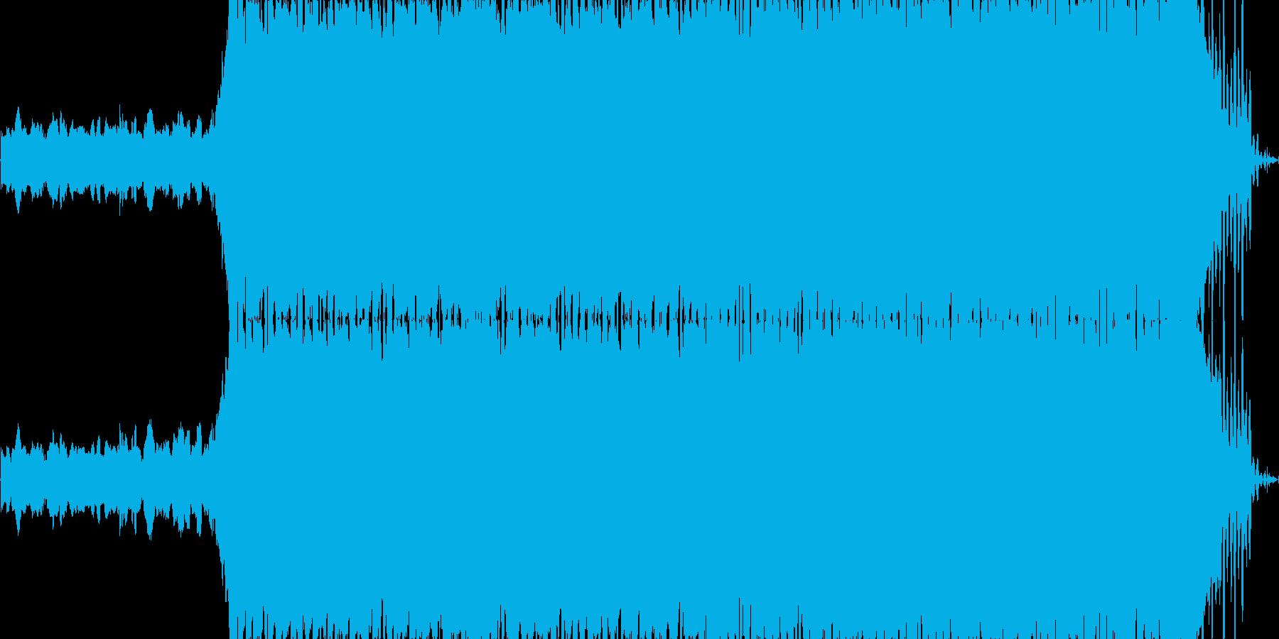 まさにオープニングをイメージして作った…の再生済みの波形
