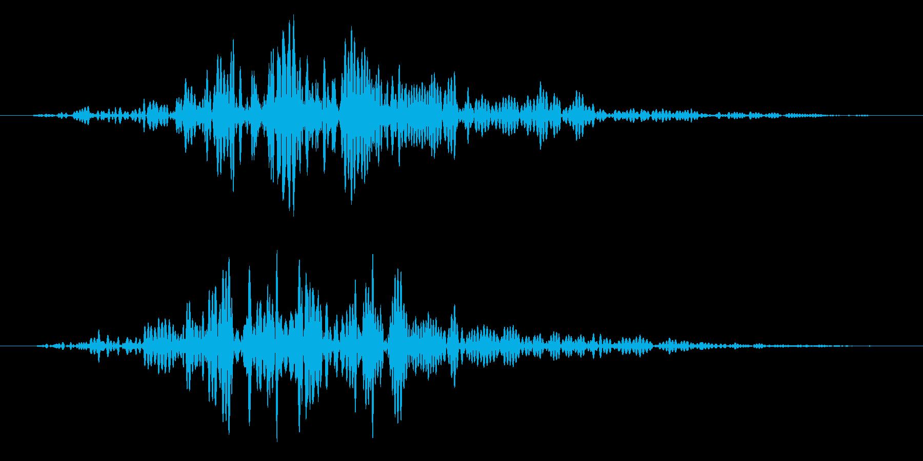 シャッ!カットインや風切り/場面転換に3の再生済みの波形