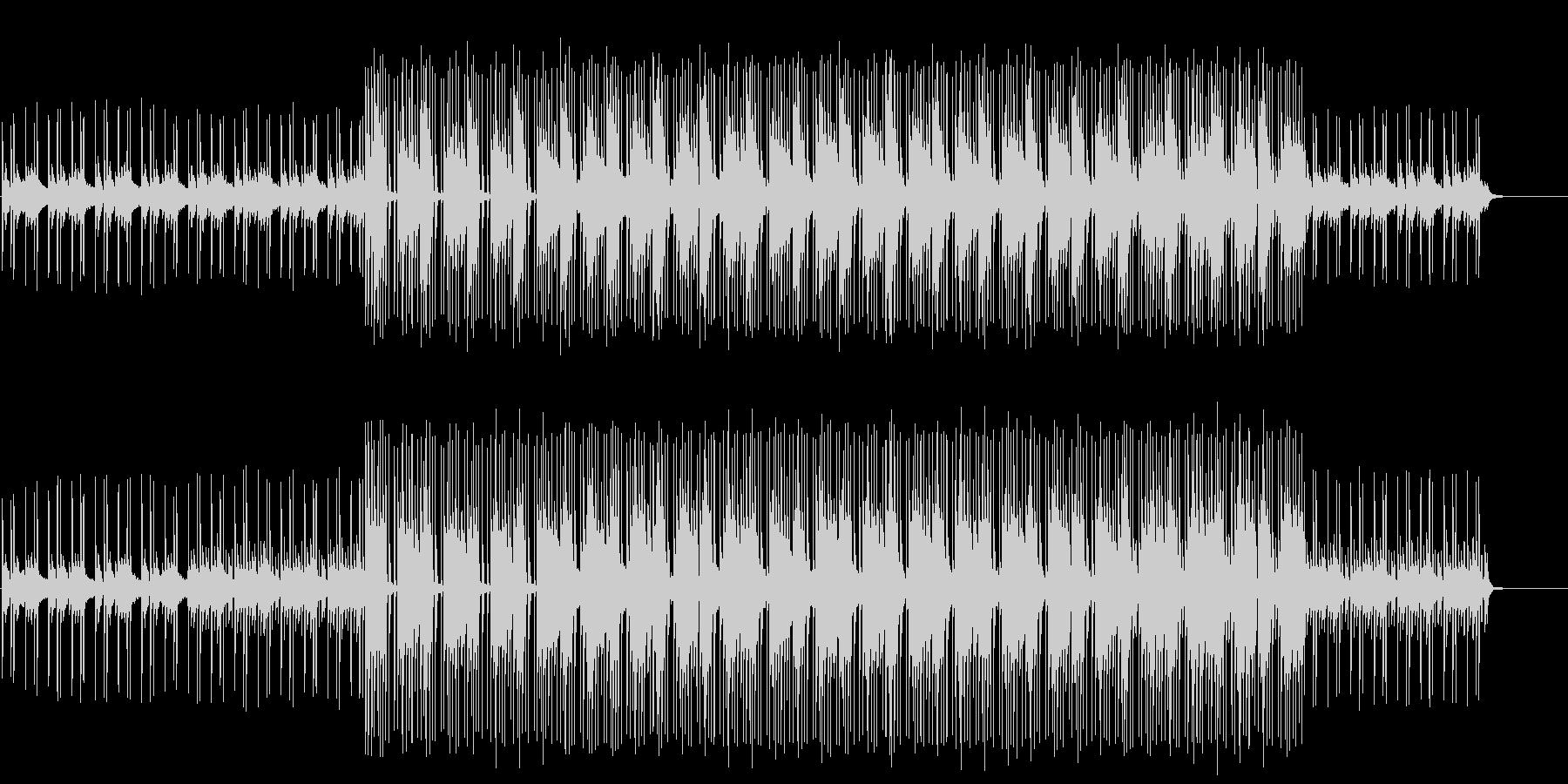 クイズコーナー向けの軽妙なコミカルBGMの未再生の波形