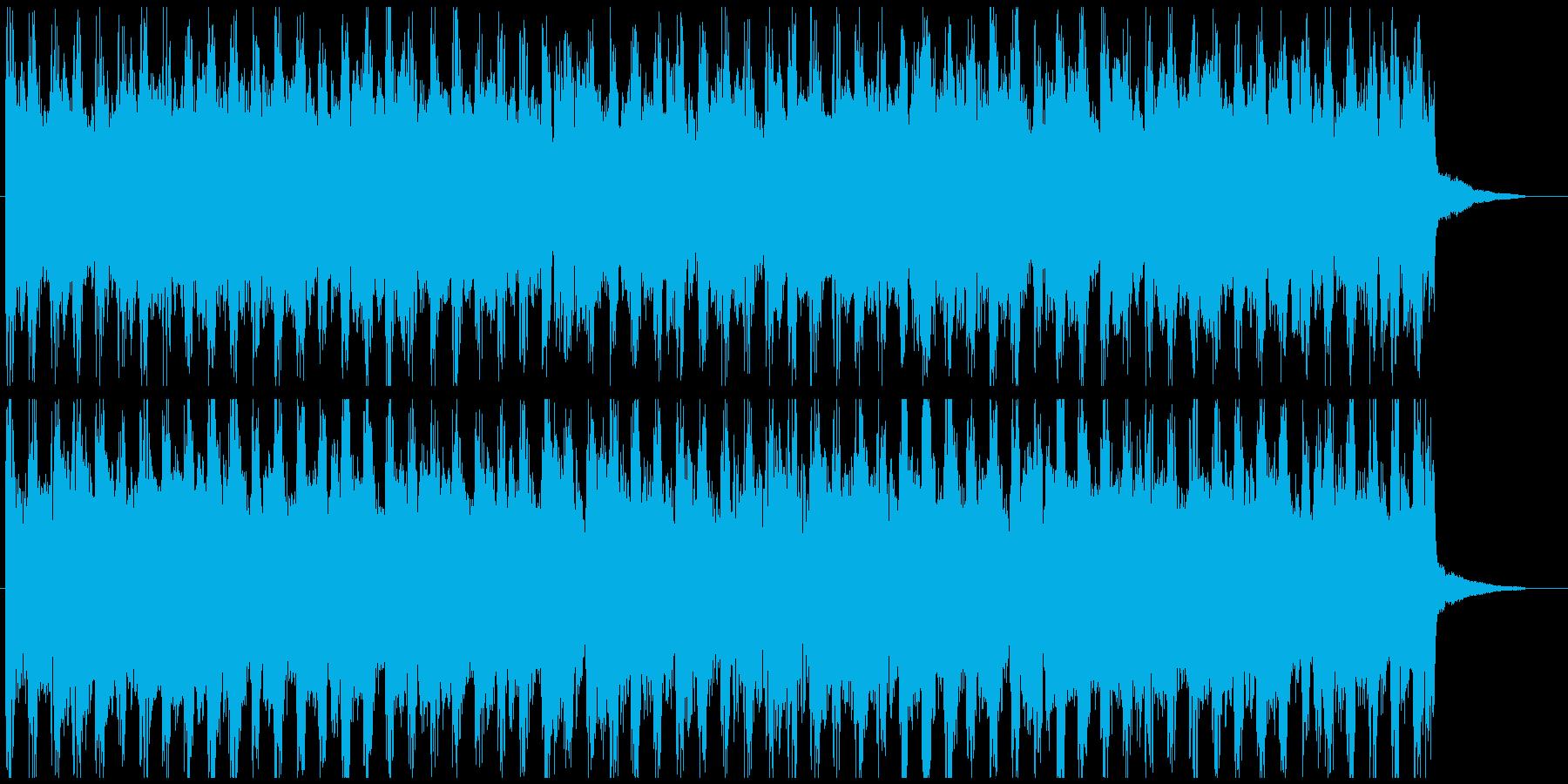 企業VP爽やかなポップ4つ打ち2 30秒の再生済みの波形