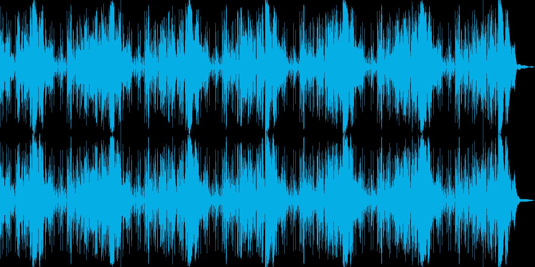 不思議な空間の再生済みの波形