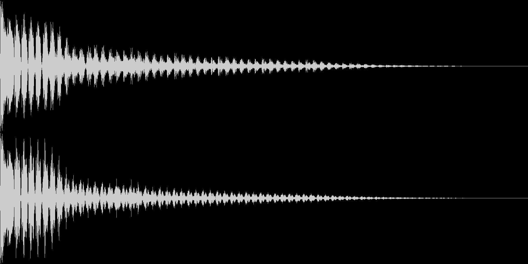 TVFX ビヨーンとヘンテコなSE 5の未再生の波形