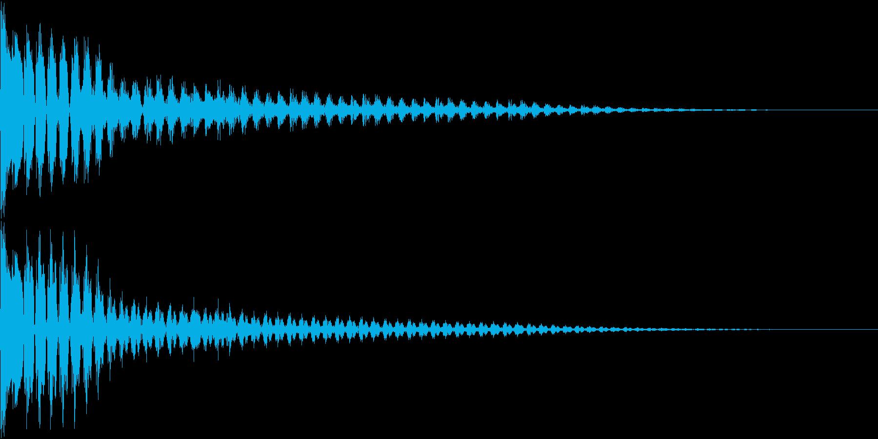TVFX ビヨーンとヘンテコなSE 5の再生済みの波形