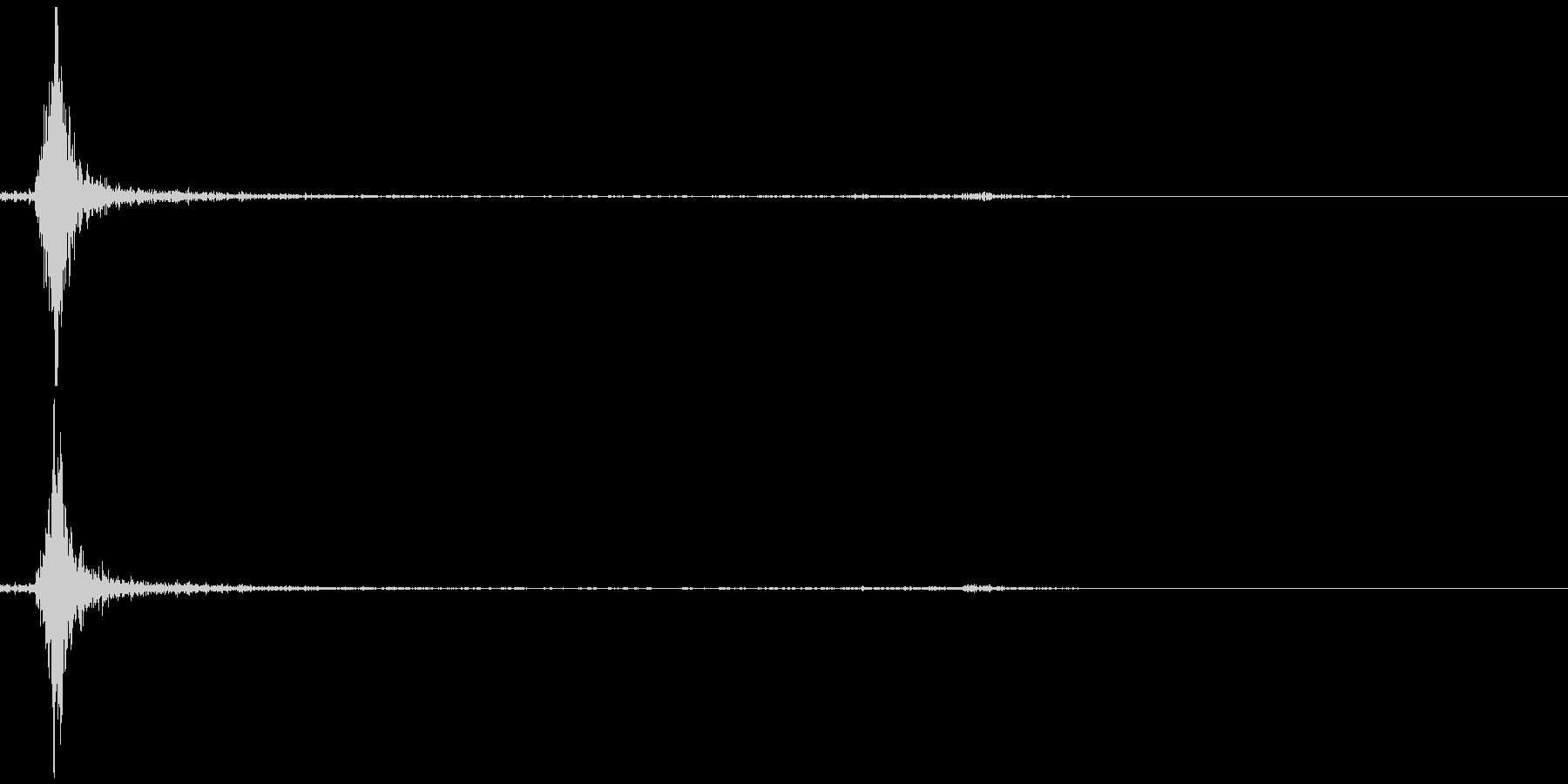 【カチッ】スイッチ(ON・OFF)の未再生の波形