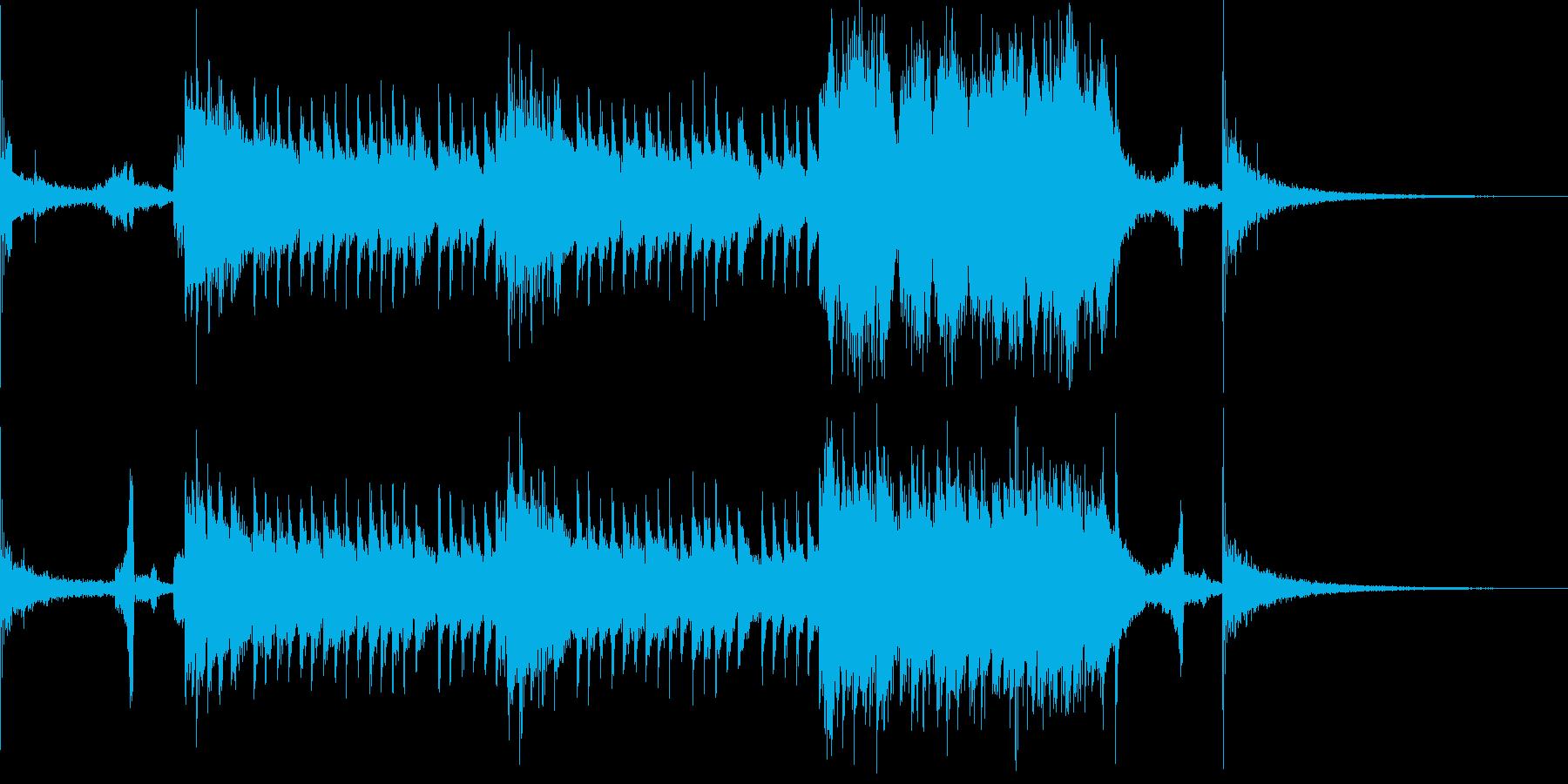 ジングル 約30秒 和風 琴の再生済みの波形