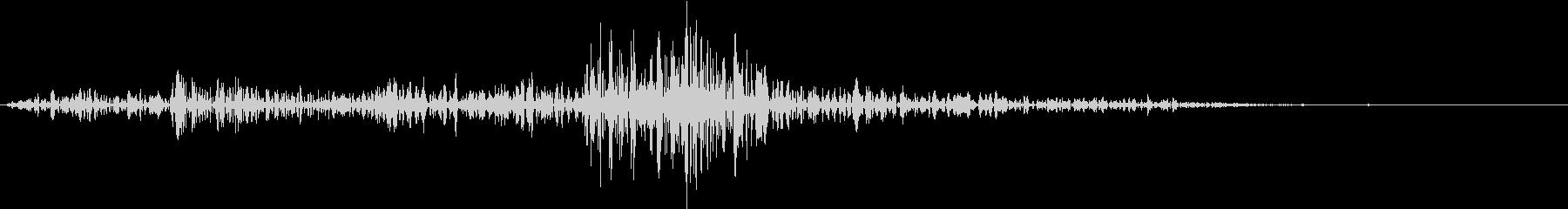 Lighter ライターの音 ジッ 2の未再生の波形