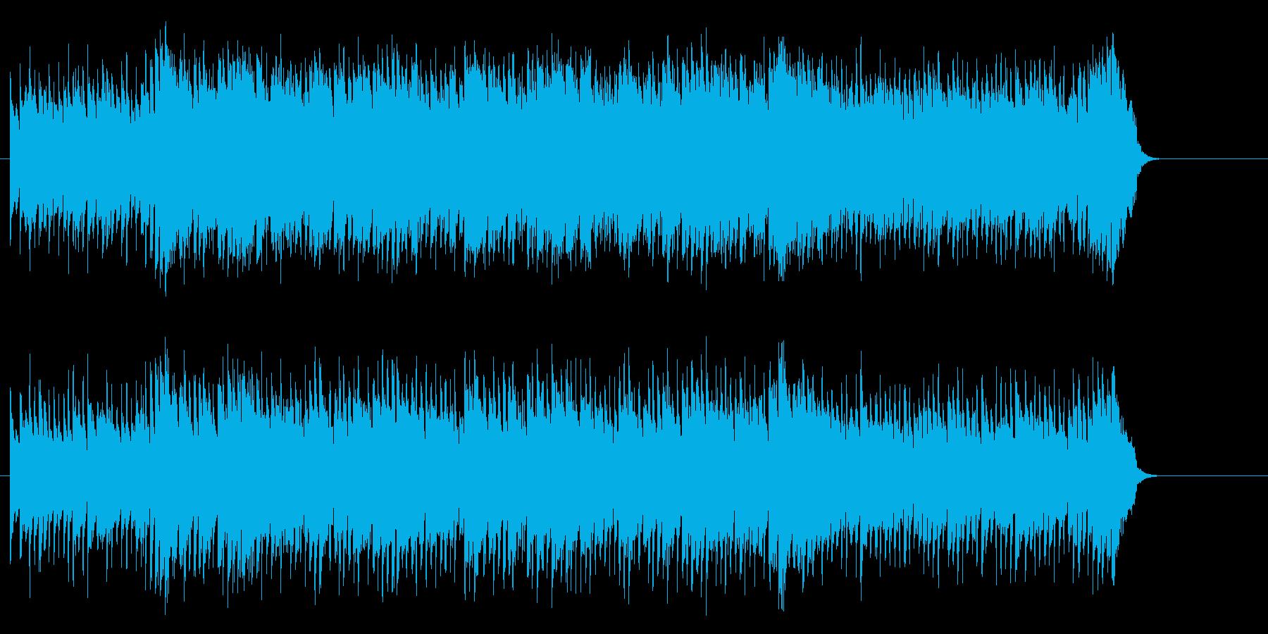 活力を与える暖かなポップ(イントロ~…)の再生済みの波形