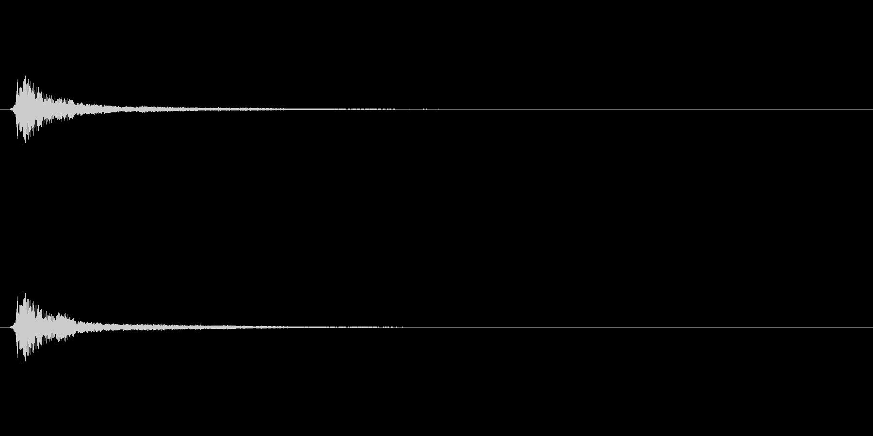 サウンドロゴ(企業ロゴ)_016の未再生の波形