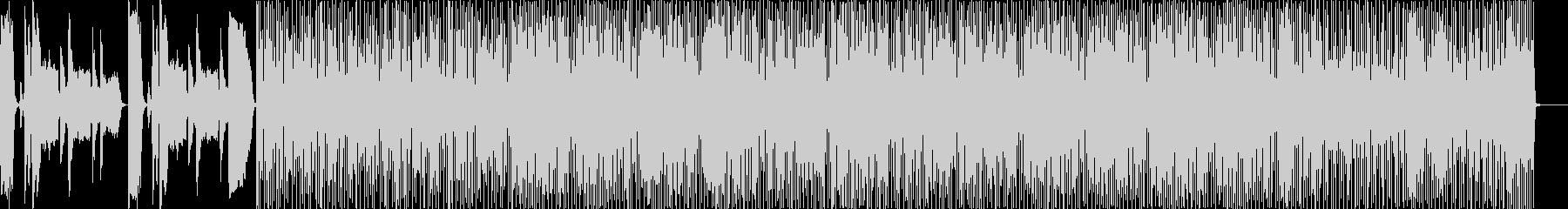 カーニバル音楽の未再生の波形