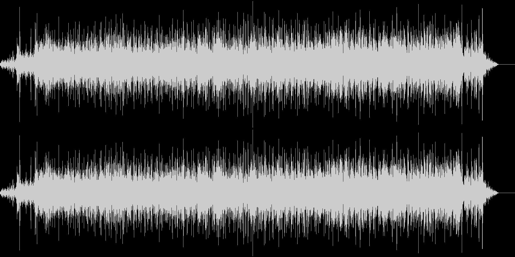 「ジャーー」水道の音です。の未再生の波形