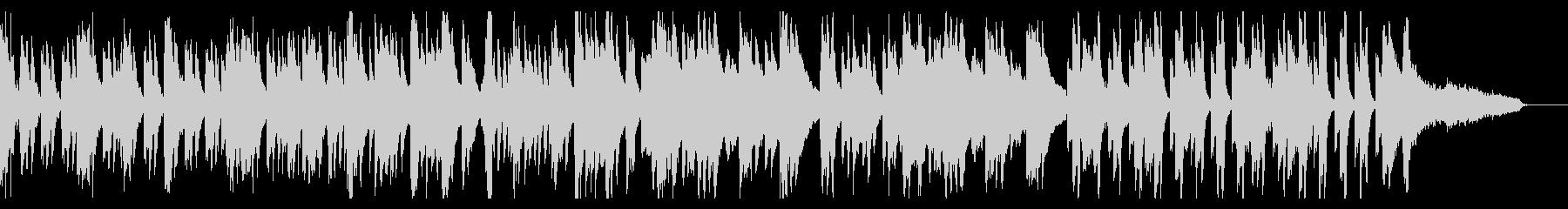 のどかでゆったり、シンプルな日常曲の未再生の波形