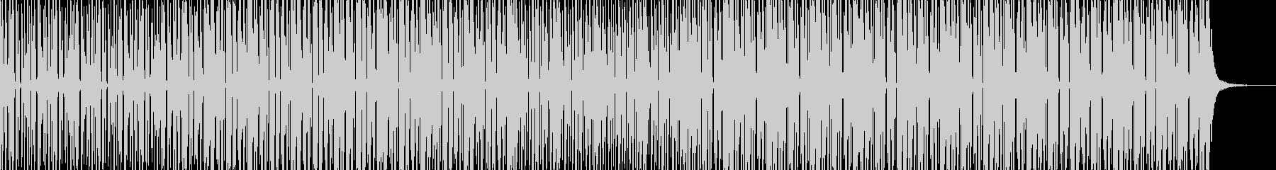 シンセティックハウスの未再生の波形