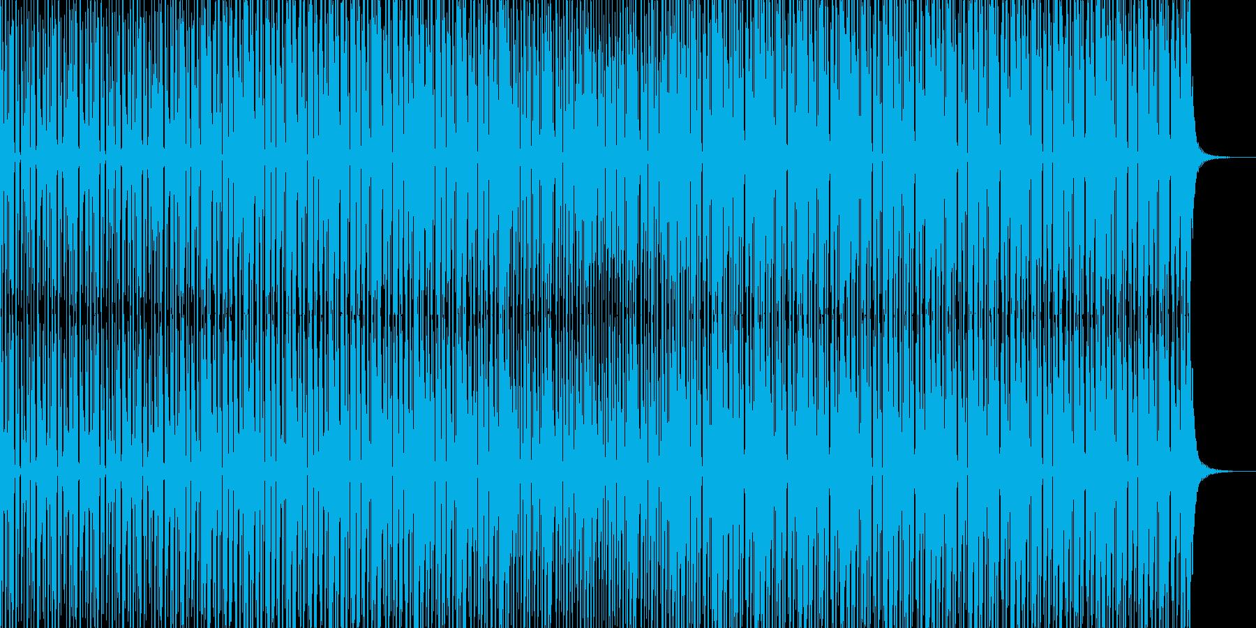 シンセティックハウスの再生済みの波形