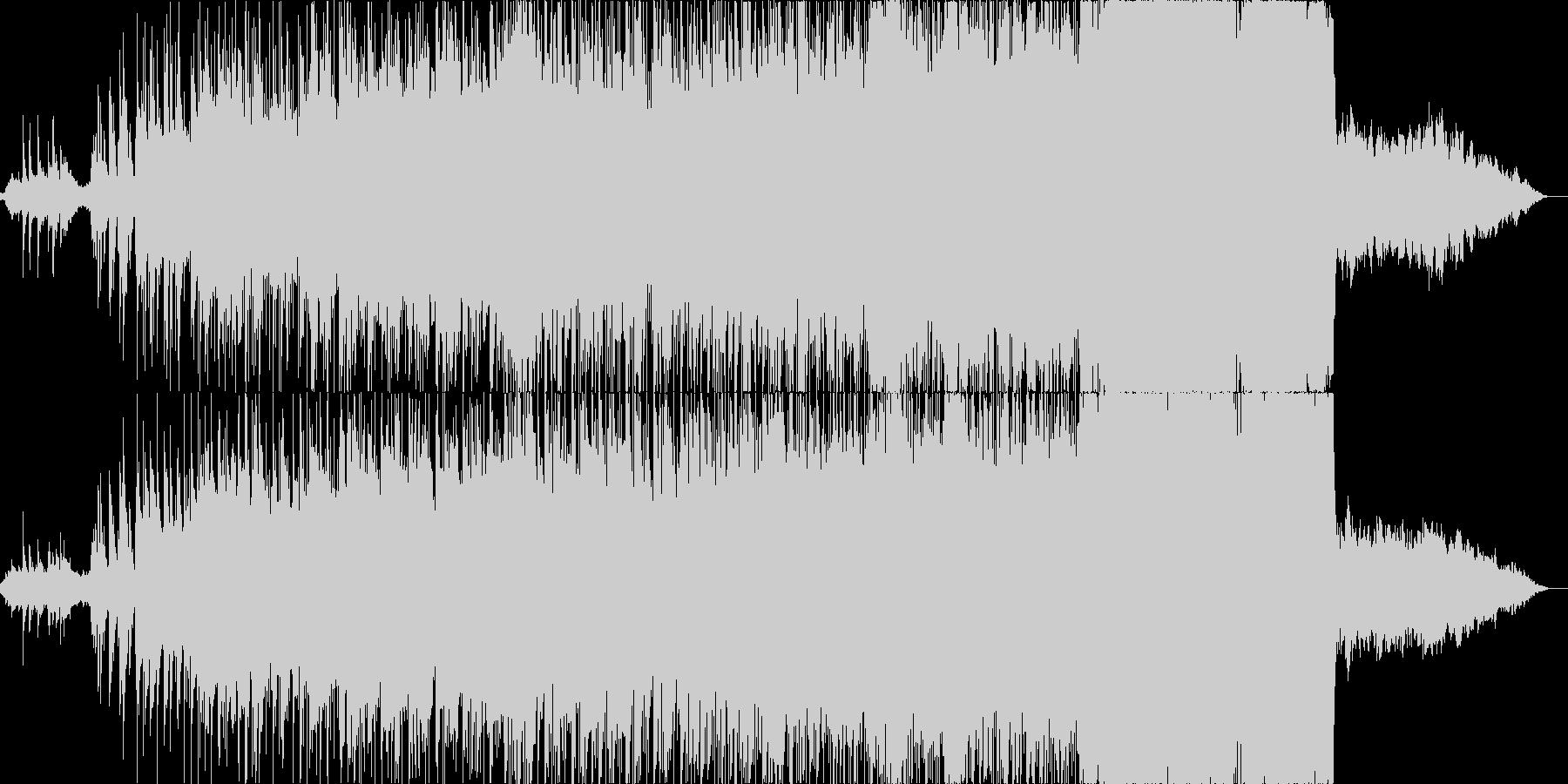 インド風の爽やかなBGMの未再生の波形