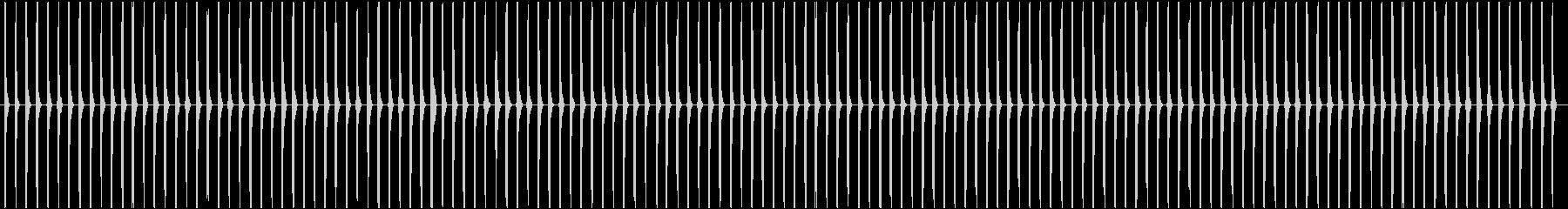 ゼンマイ仕掛けの時計の秒針(チクタク)Aの未再生の波形