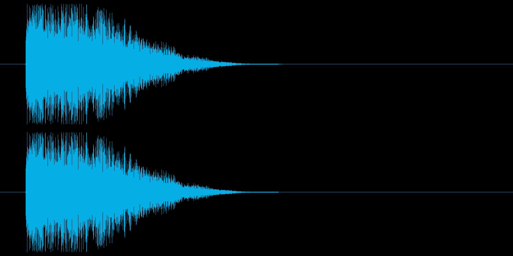 敵マシン構えの再生済みの波形