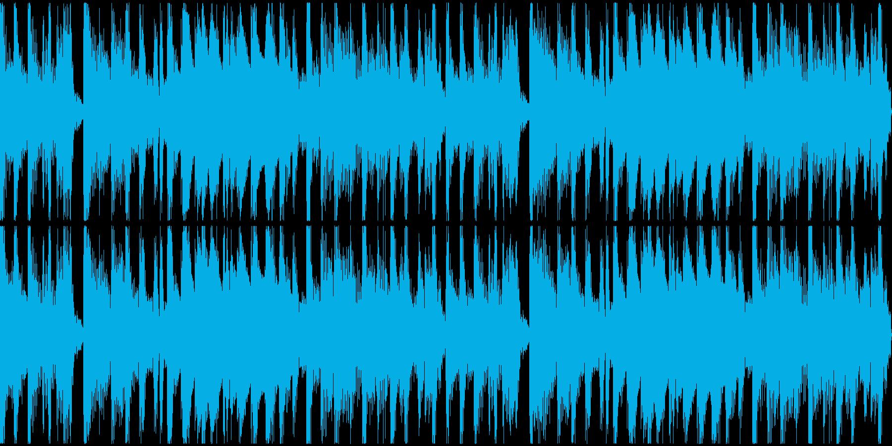 ゲームやアプリのメニュー画面等に ジャズの再生済みの波形