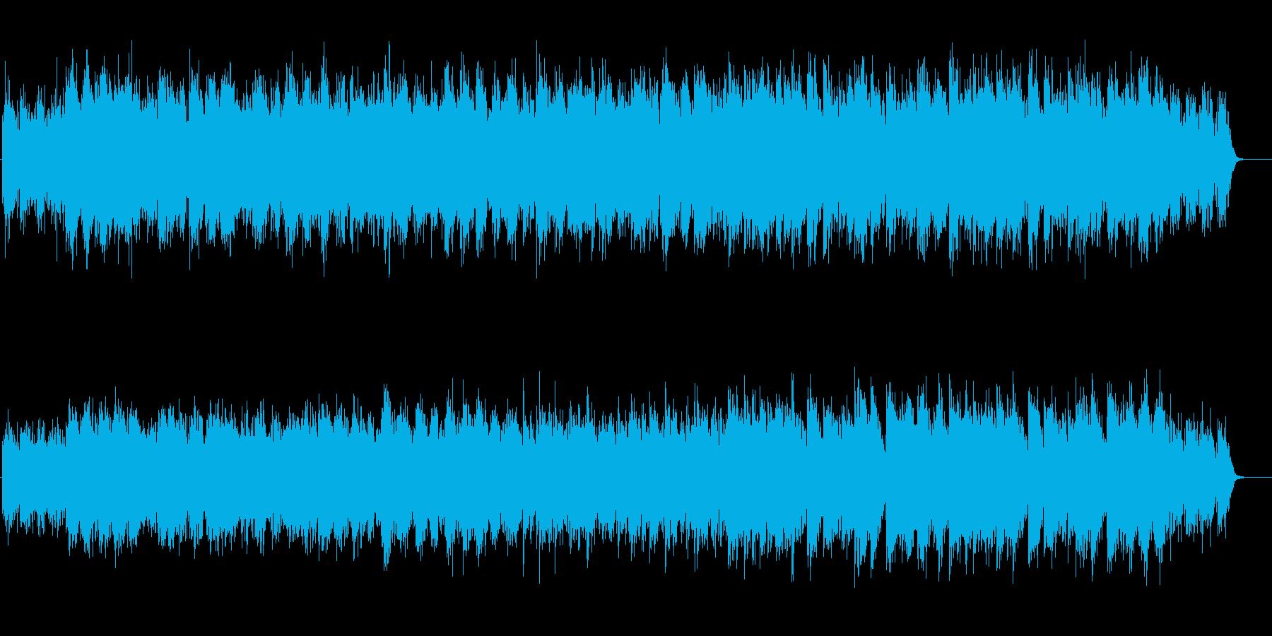 アンビエント系やすらぎのオアシスの再生済みの波形
