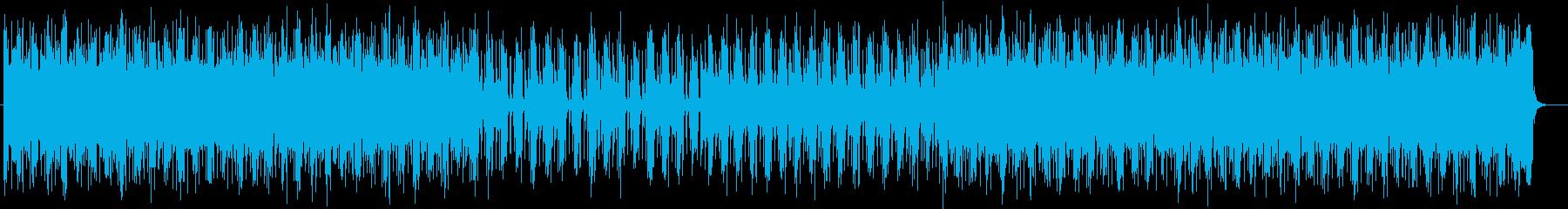 疾走感あるミステリアスなダークテクノの再生済みの波形