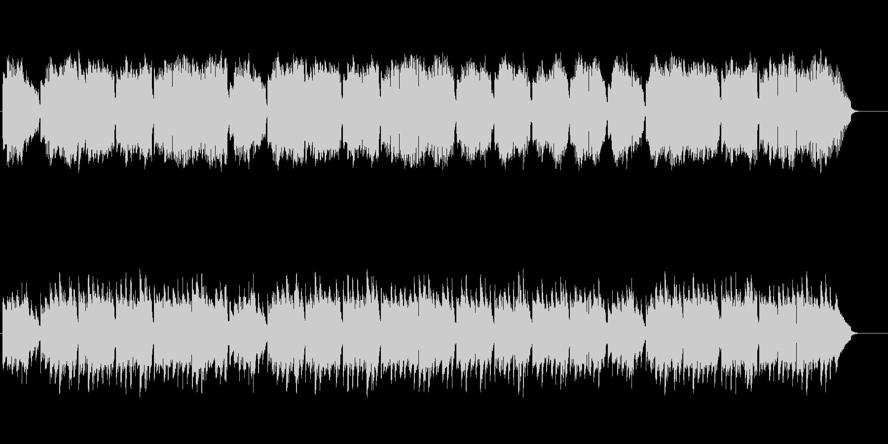 静かな哀愁のヨーロピアン風スローBGMの未再生の波形