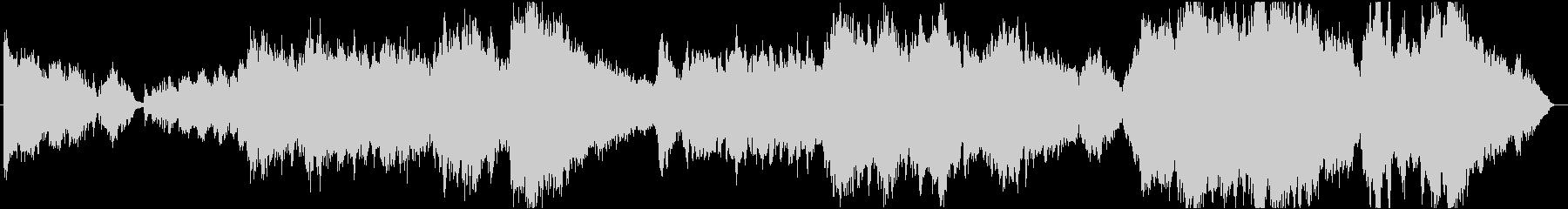 ドビュッシーとラベルのコラボレーションの未再生の波形