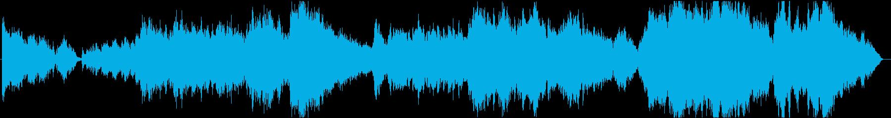 ドビュッシーとラベルのコラボレーションの再生済みの波形