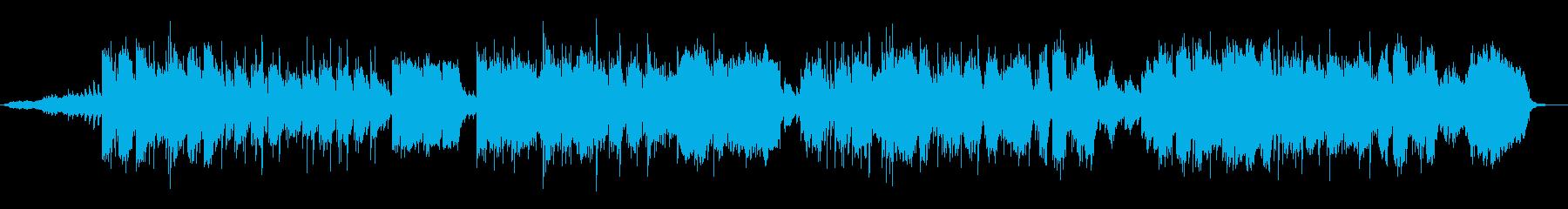 悲しいヨーロッパ民謡の再生済みの波形