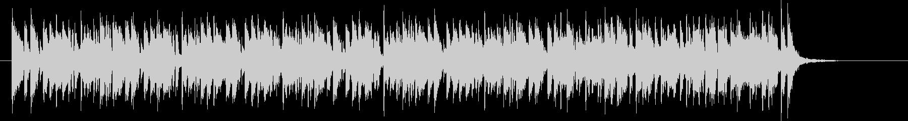 ホーンシンセの軽やかポップスの未再生の波形