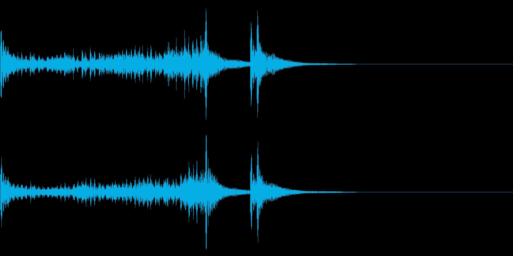 ティンパニーロールドドン☆ミドル3の再生済みの波形