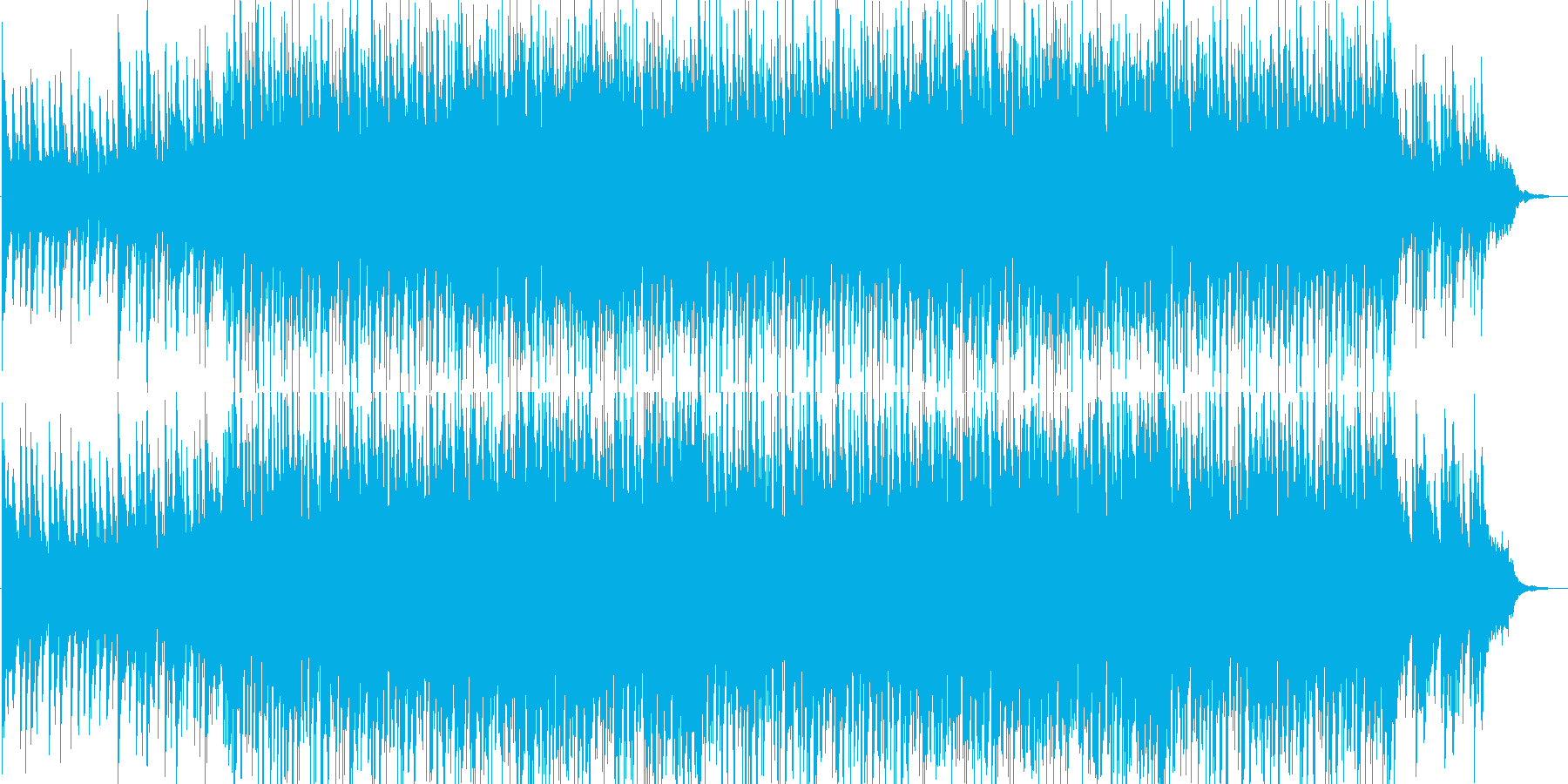 疾走感・勇壮・入場・ゲーム・イベント用の再生済みの波形