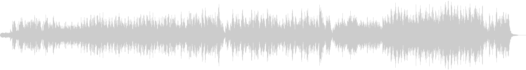 幻想的なハープの未再生の波形