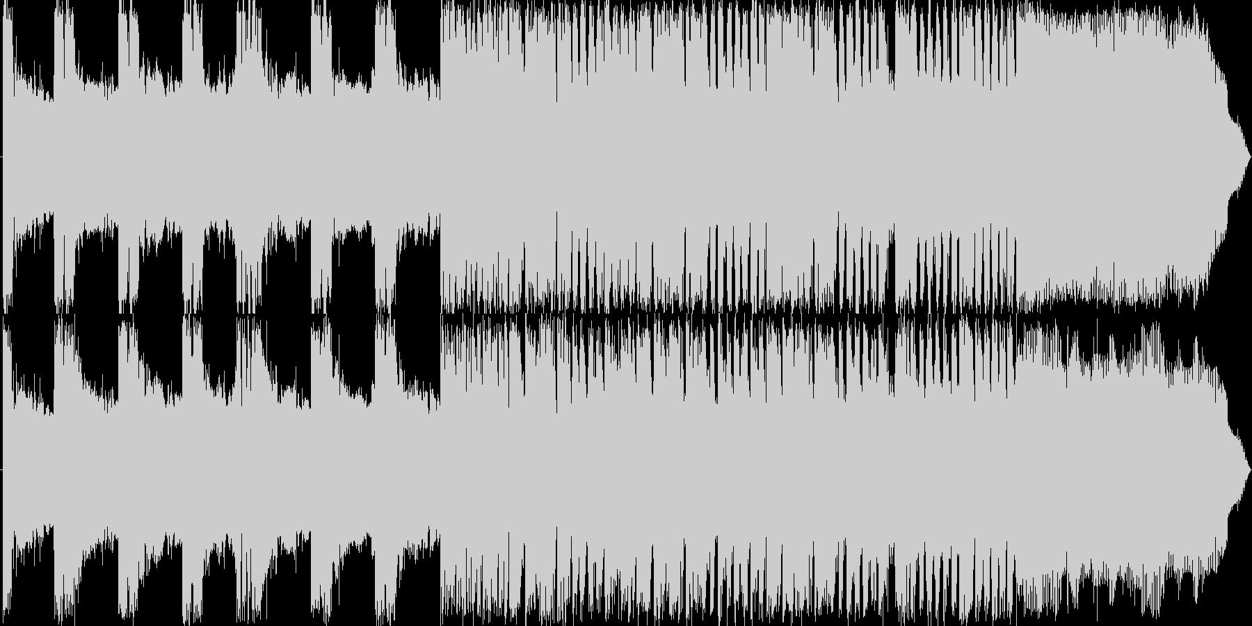 Rock30sの未再生の波形