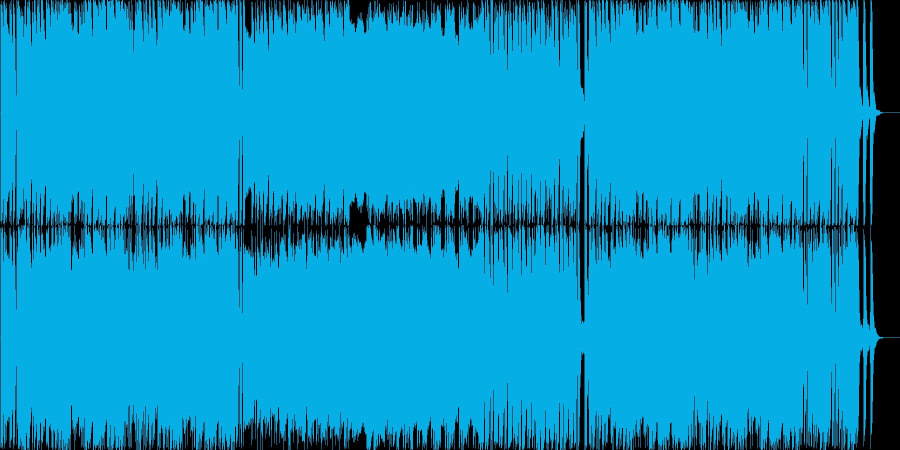 ピチカートメインのかわいく軽快なBGMの再生済みの波形