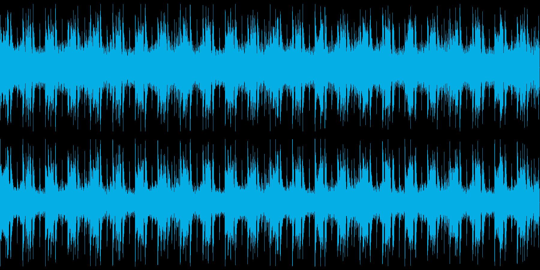 おしゃれでメロディレスなラウンジ風の再生済みの波形