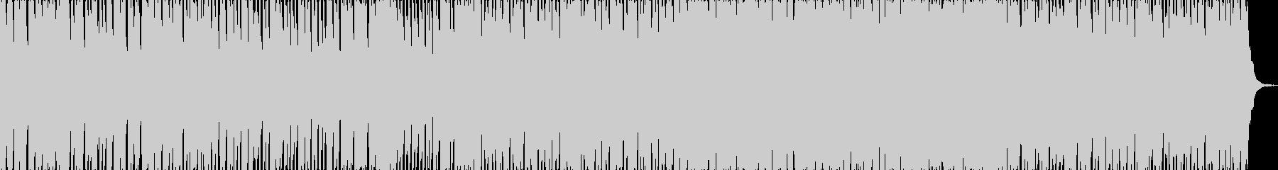 「トルコ行進曲」テクノポップリミックスの未再生の波形