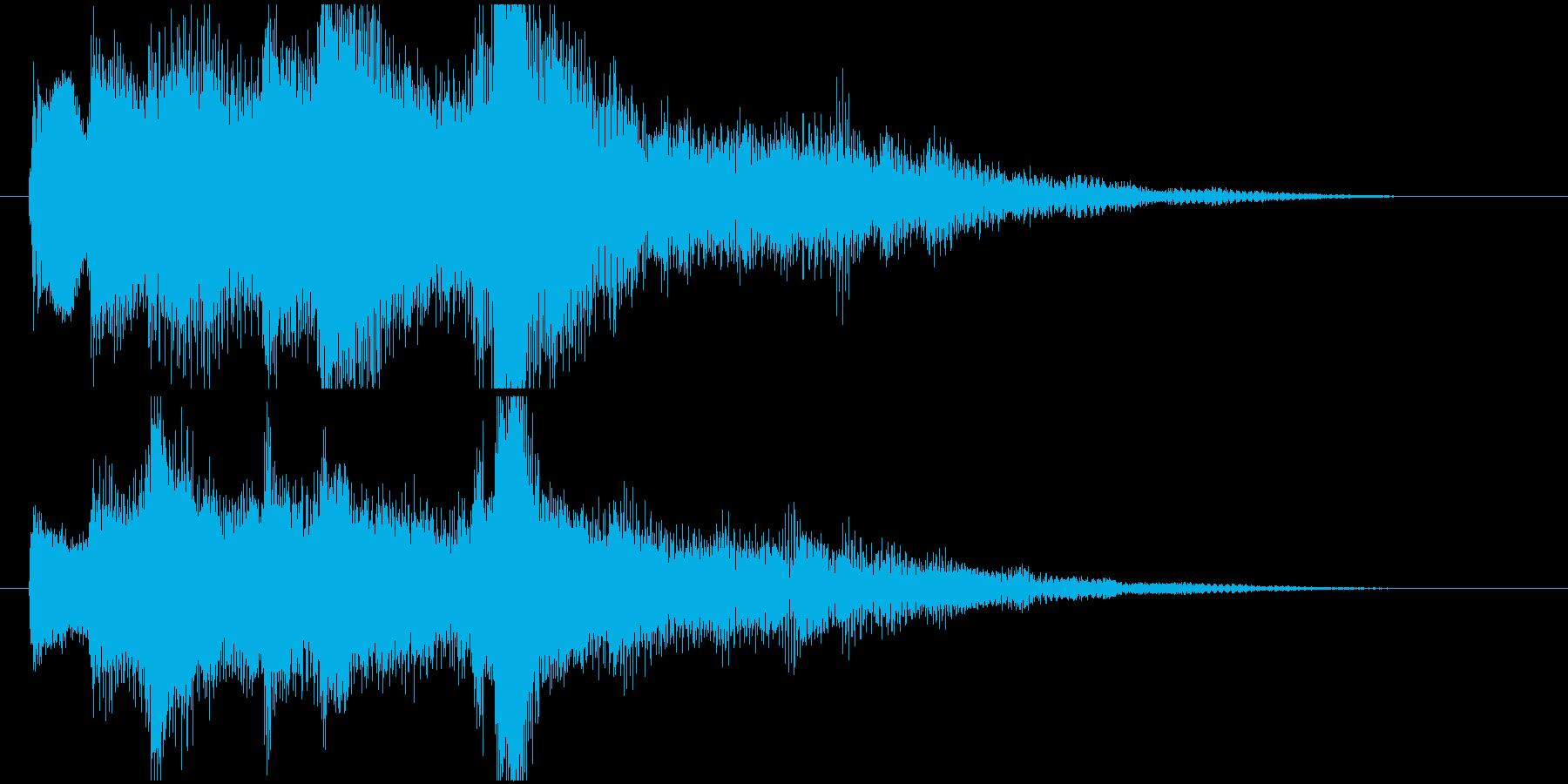 【フォーマル】企業系サウンドロゴの再生済みの波形
